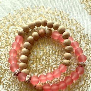 Essential Oil Diffuser Bracelets Set